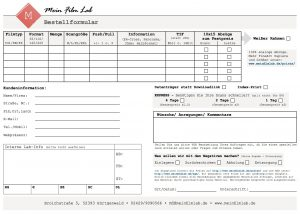 MeinFilmLab Bestellformular PDF