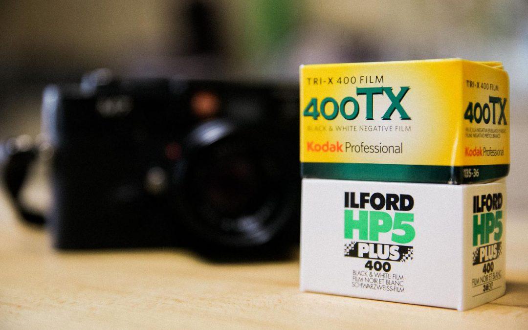 Die Kontrahenten – Ilford HP5 und Kodak 400TX (TriX)