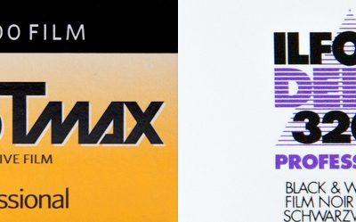 Höchstempfindliche Filme: Ilford Delta 3200 und Kodak TMax 3200