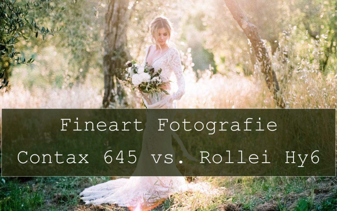 Hochzeitsfotografie: Contax 645 vs. DW Rollei Hy6