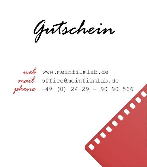 Gutschein MeinFilmLab