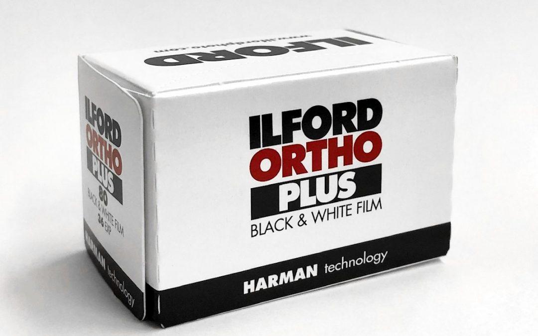 Ilford ORTHO Plus 80 Kleinbild