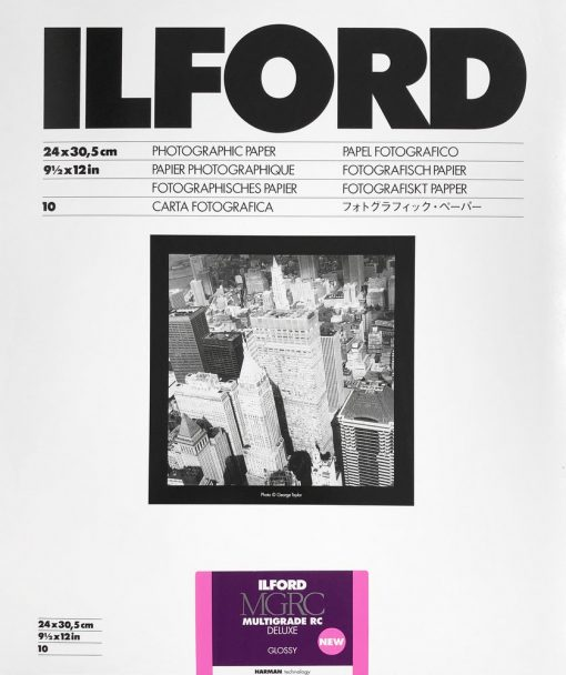 Ilford Multrigrade RC DELUXE V 1M Glossy 25x30/10