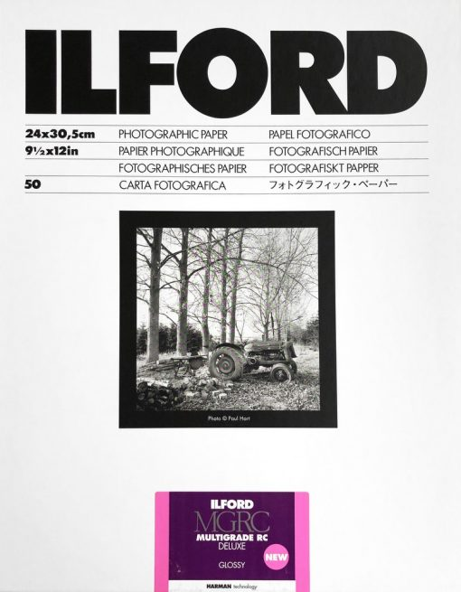 Ilford Multrigrade RC DELUXE V 1M Glossy 25x30/50